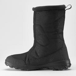 Winterstiefel Winterwandern SH100 Extra-Warm Herren schwarz