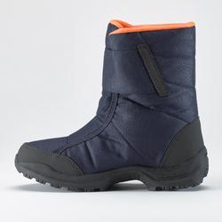 Wandellaarzen voor de sneeuw kinderen SH100 X-Warm blauw