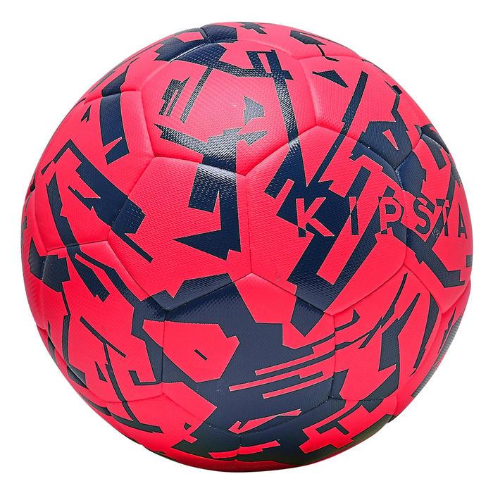 Voetbal F500 hybride light maat 5 wit/zwart