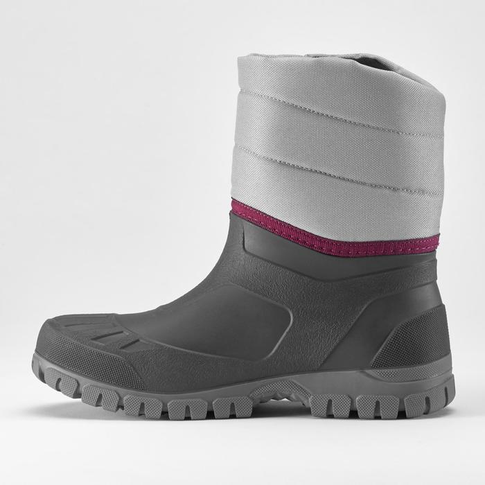 Wandellaarzen voor de sneeuw dames SH100 Warm grijs