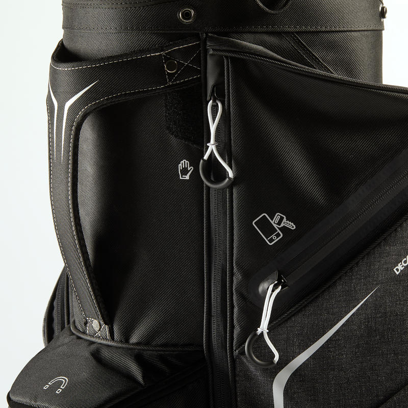 GOLF CART BAG - BLACK