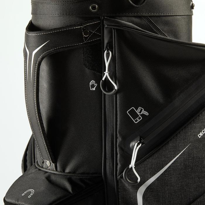 Golf Cartbag schwarz