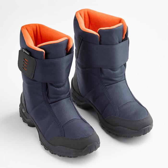 Warme waterdichte wandellaarzen voor de sneeuw kinderen SH100 X-Warm