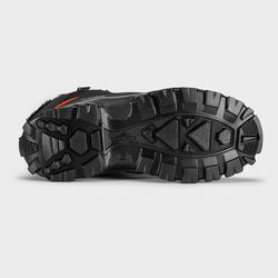 Botas De Senderismo Nieve Júnior SH520 Warm High Negro Impermeable