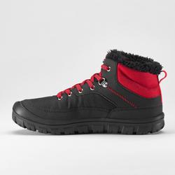Boot Hiking Salju Mid-Height Laceup JR Hangat SH100