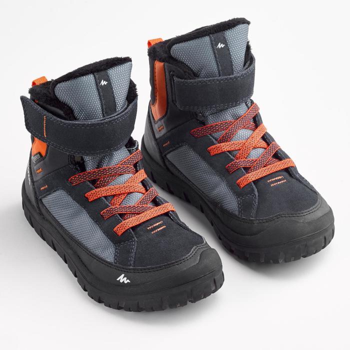 024a894f712 Children s Snow Hiking Shoes SH500 Warm Junior Rip-Tab Mid Snow ...