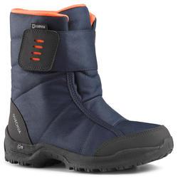 Botas de senderismo nieve júnior SH100 x-warm azul
