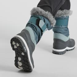 Warme waterdichte dameslaarzen voor sneeuwwandelen SH500 X-warm hoog