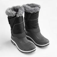 Women's hiking snow boots SH500 x-warm - Black
