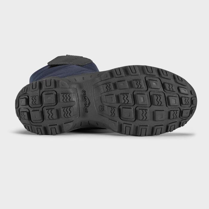 兒童款超保暖雪地健行靴SH100–藍色