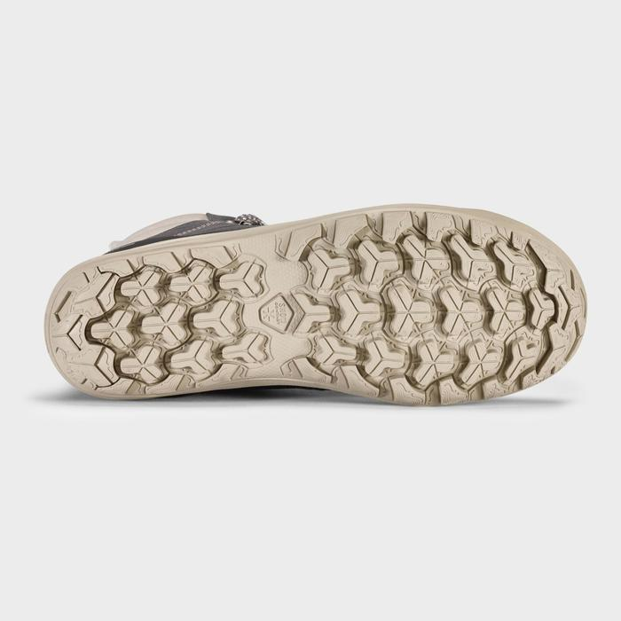 Chaussures chaudes imperméables de randonnée neige - SH100 WARM - MID Femme