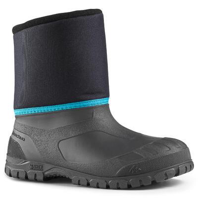 מגפיים חמים להליכה בשלג לילדים SH100 - כחול