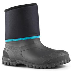 KIDS' WARM AND WATERPROOF SNOW BOOTS - SH100 WARM