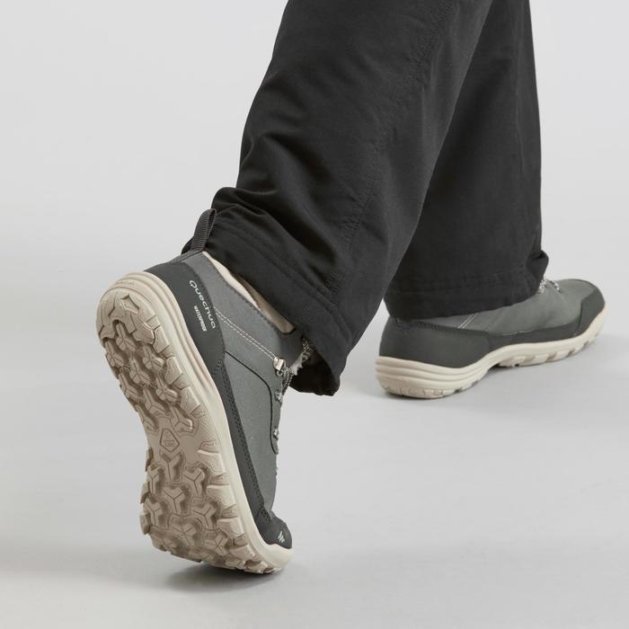 Wandelschoenen voor dames SH100 Warm kaki