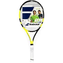 Tennisracket kinderen Pure Aero 26 inch zwart/geel