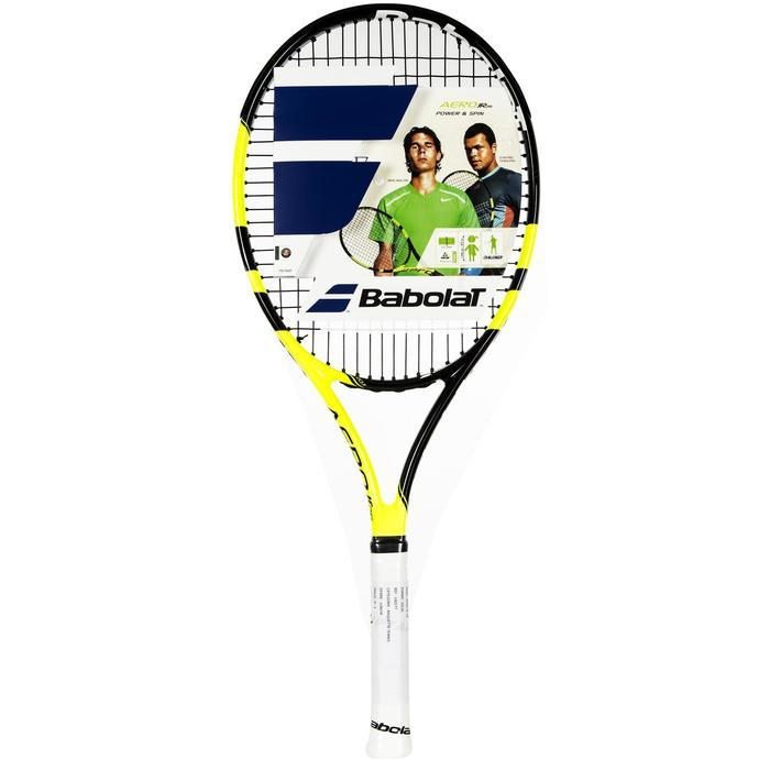 Tennisracket kinderen Babolat Pure Aero 26 zwart geel - 164763