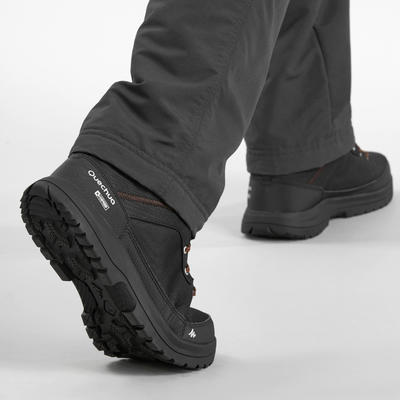 SH100 Warm Men's Hiking Boots - Black