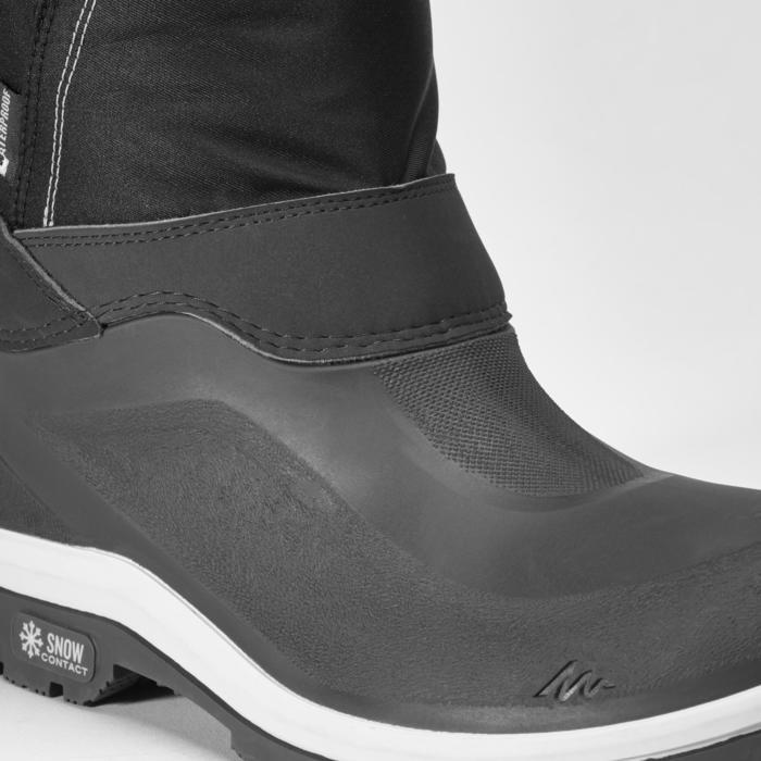 Bottes de randonnée neige femme SH500 x-warm black