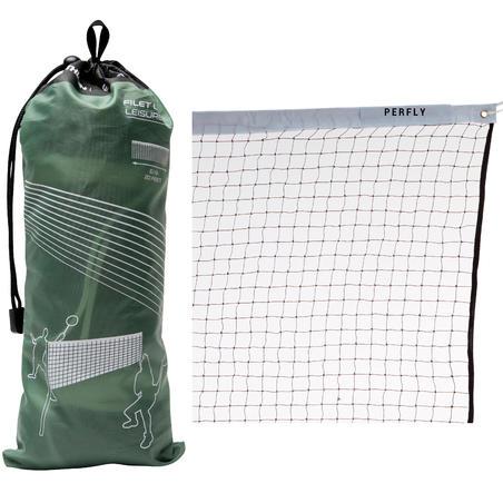 Brīvā laika badmintona tīkls, brūns