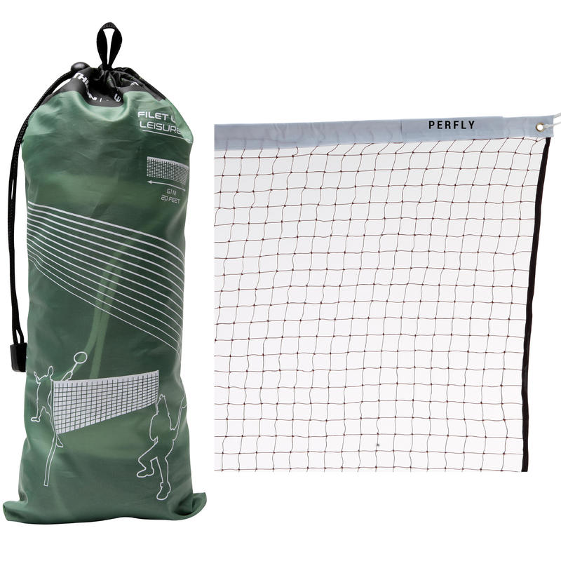 Leisure Net Badminton Net - Brown