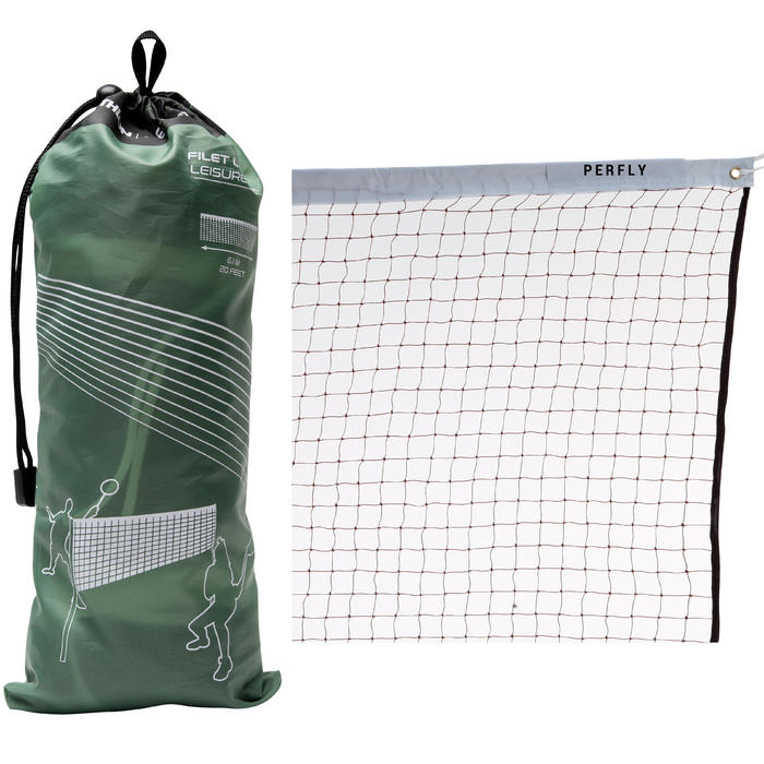 Badmintonnet recreatief bruin