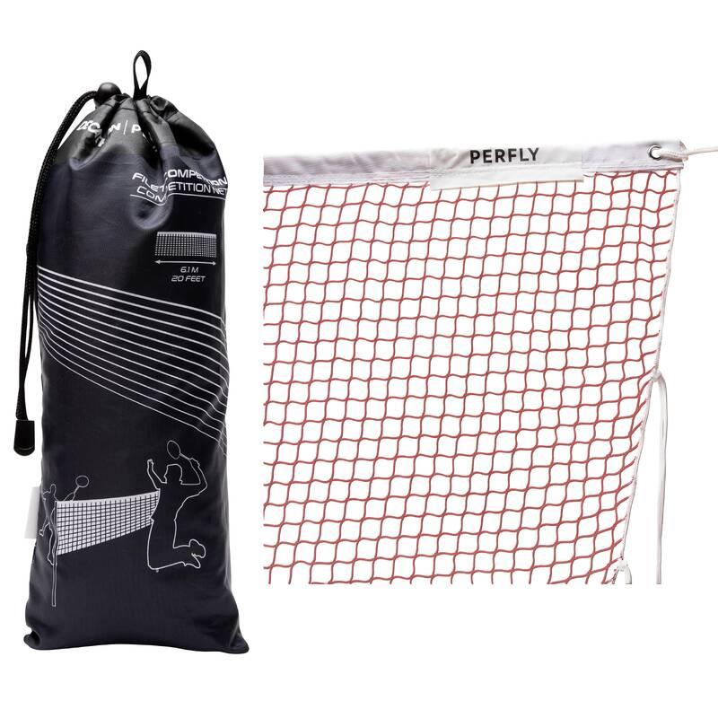 SÍTĚ/SLOUPKY BADMINTON RAKETOVÉ SPORTY - SÍŤ NA BADMINTON ČERNÁ PERFLY - Badminton