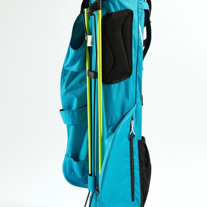 Standbag voor golf Ultralight turquoise