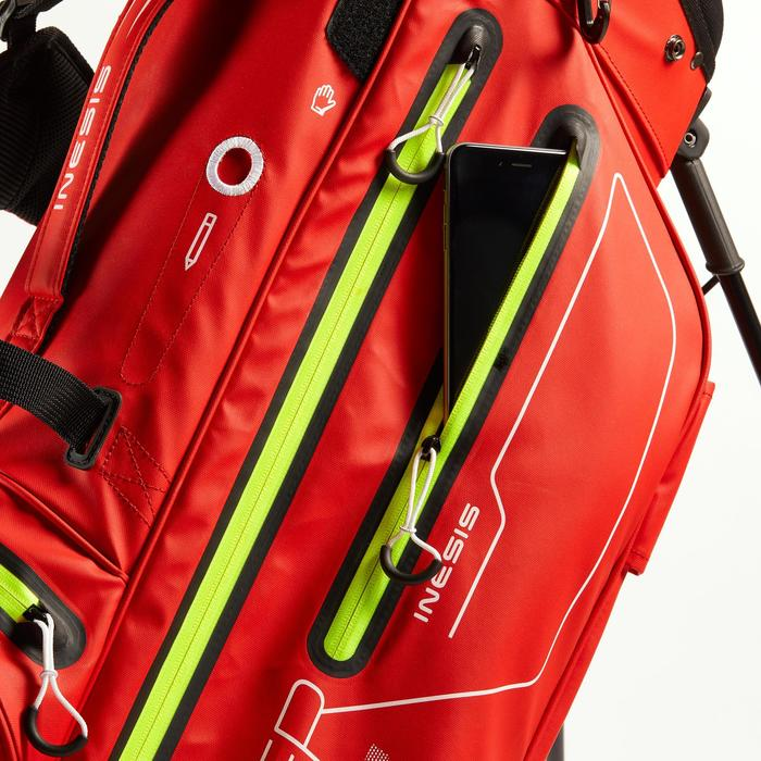 BOLSA DE GOLF WATERPROOF ROJO/AMARILLO