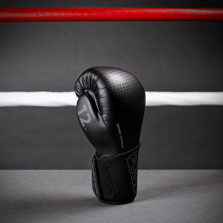 Sparring Boxing Gloves 900 - Black