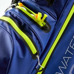 SAC de GOLF WATERPROOF BLEU/JAUNE