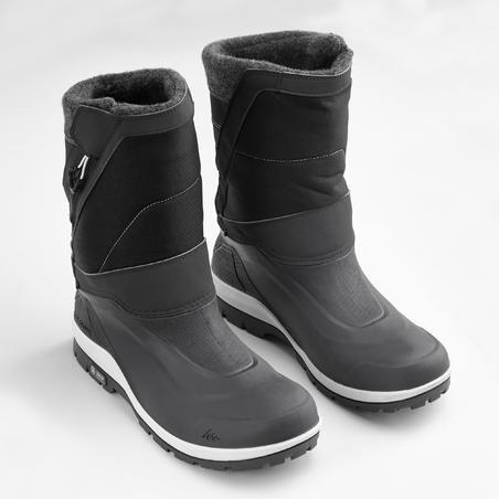 Botas de senderismo nieve hombre SH500 x-warm negro.