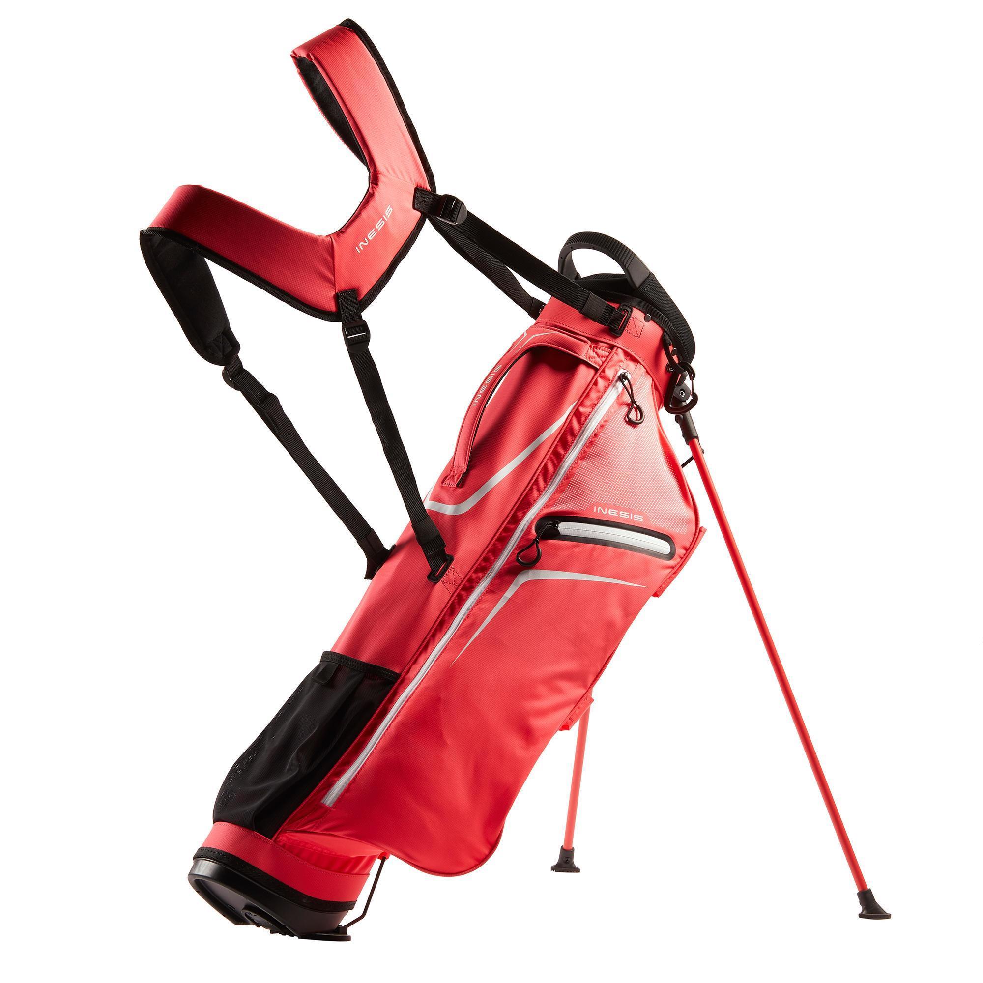 Inesis Standbag voor golf Ultralight roze kopen
