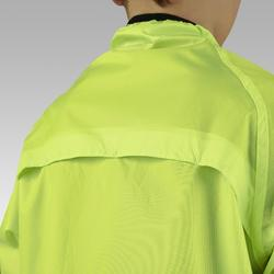 Chaqueta impermeable ciclismo júnior 300 amarillo