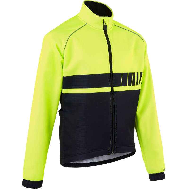 JR COLD WEATHER CYCLING APPAREL ACC Cycling - 500 Kids' Cycling Jacket B'TWIN - Cycling