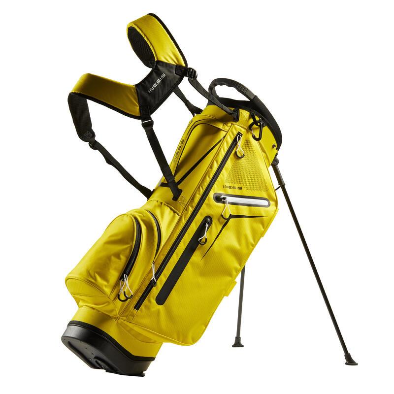 Standbag voor golf Light geel