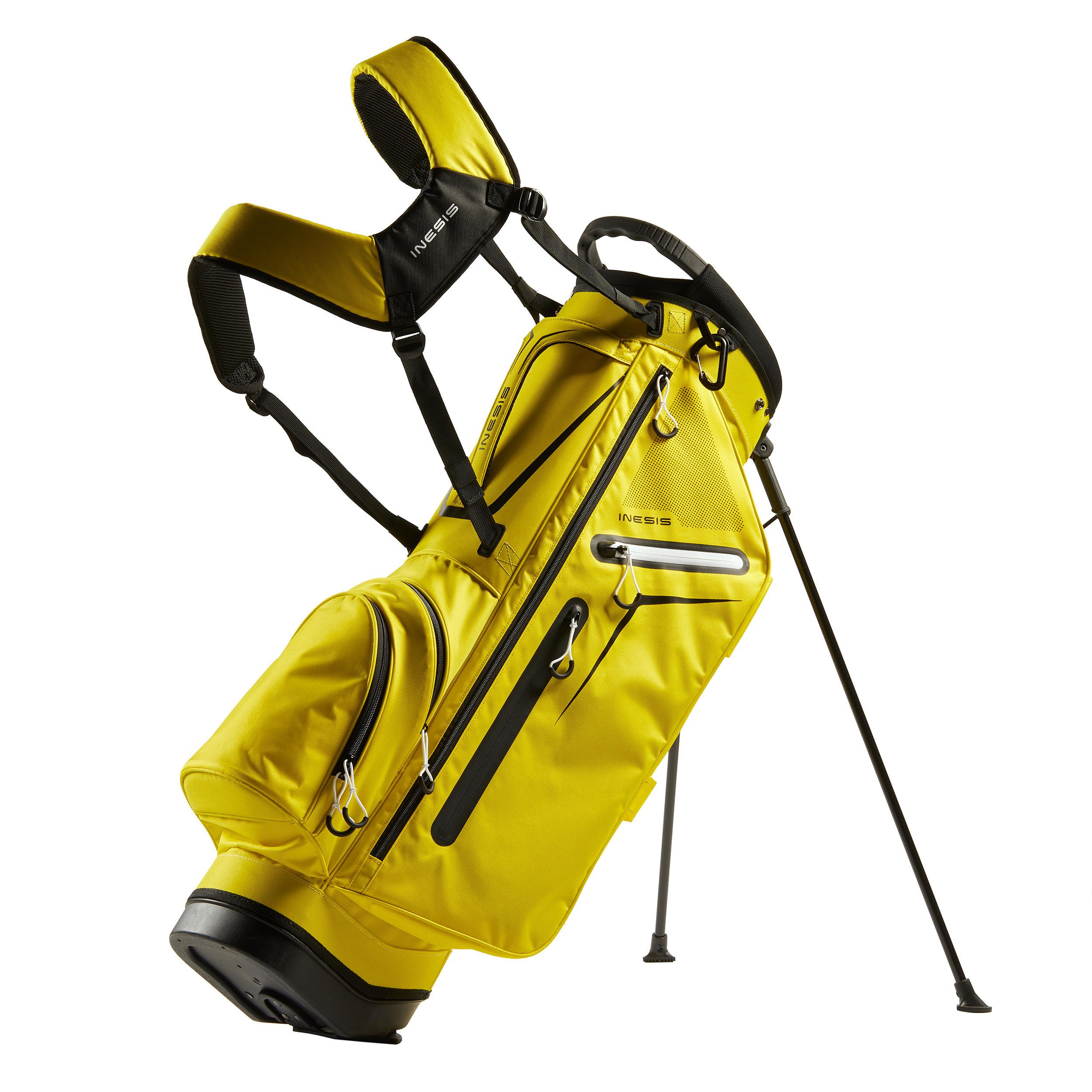Geantă golf trepied Galben la Reducere poza