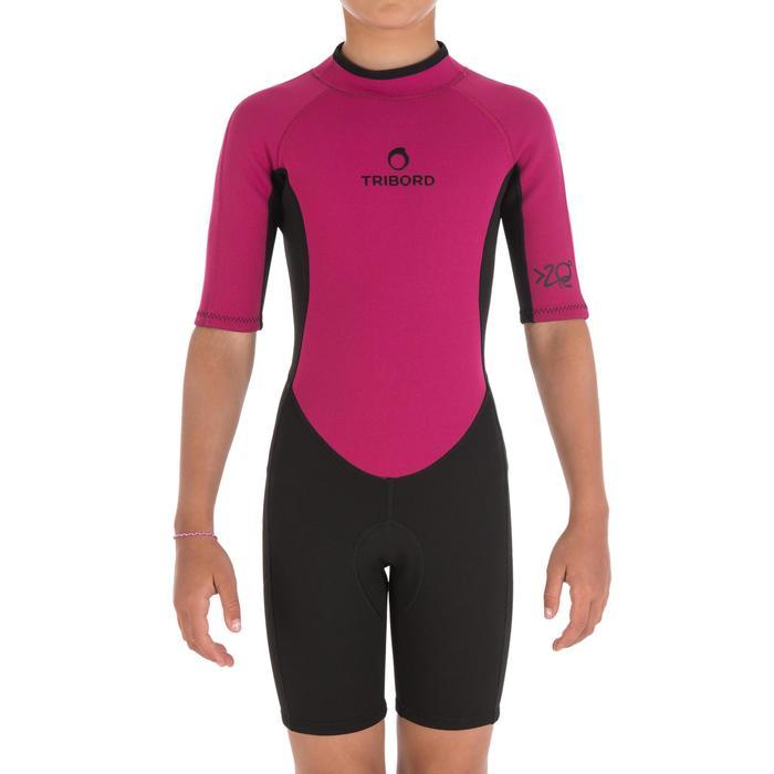 Combinaison surf Shorty 100 Néoprène Enfant - 164787