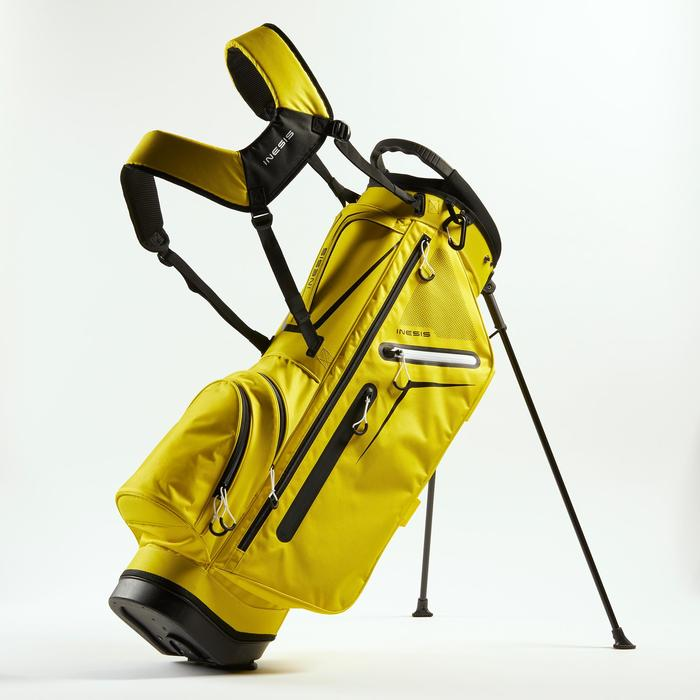 Standbag voor golf Light geel