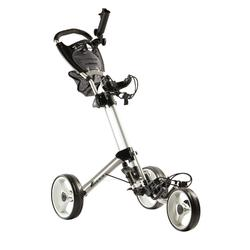 Golftrolley Compact 3-Rad weiss