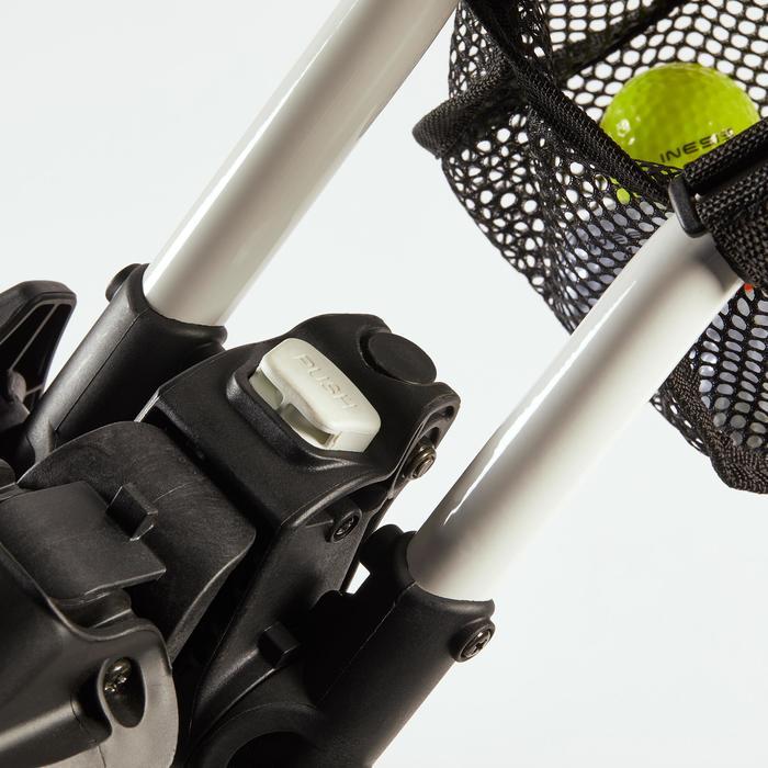 Golftrolley Compact 3-Rad weiß