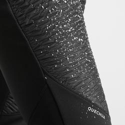 Legging de randonnée neige femme SH500 warm noir
