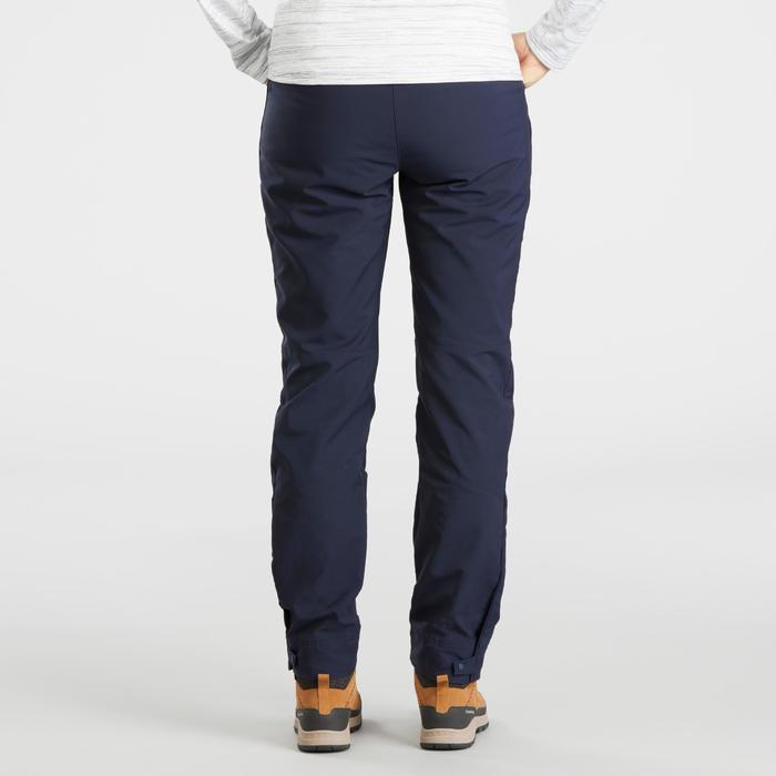 Women's Warm, Water-repellent Snow Hiking Pants SH100 X-Warm