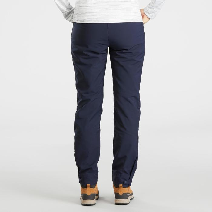 Women's warm hiking trousers SH500 x warm - blue