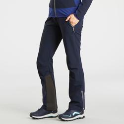 Warme wandelbroek dames SH900 Warm blauw