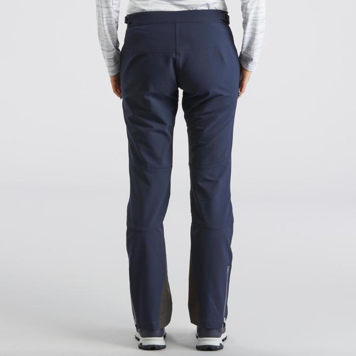 Pantalon de randonnée neige femme SH900 warm bleu