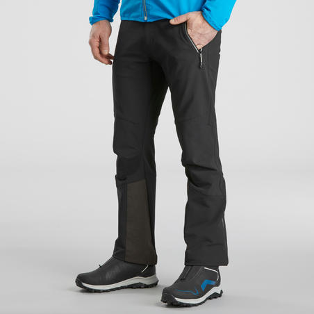 Men's Warm Water-repellent Snow Hiking Trousers - SH900 WARM.