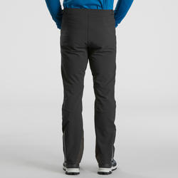 Pantalon de randonnée neige homme SH900 chaud noir.