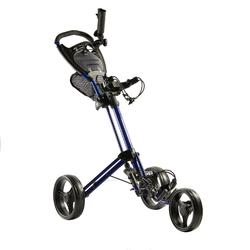 Golftrolley Compact Inesis 900 3-Rad blau