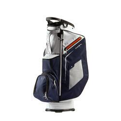 Saco de Golf para Carrinho Azul Marinho/Branco