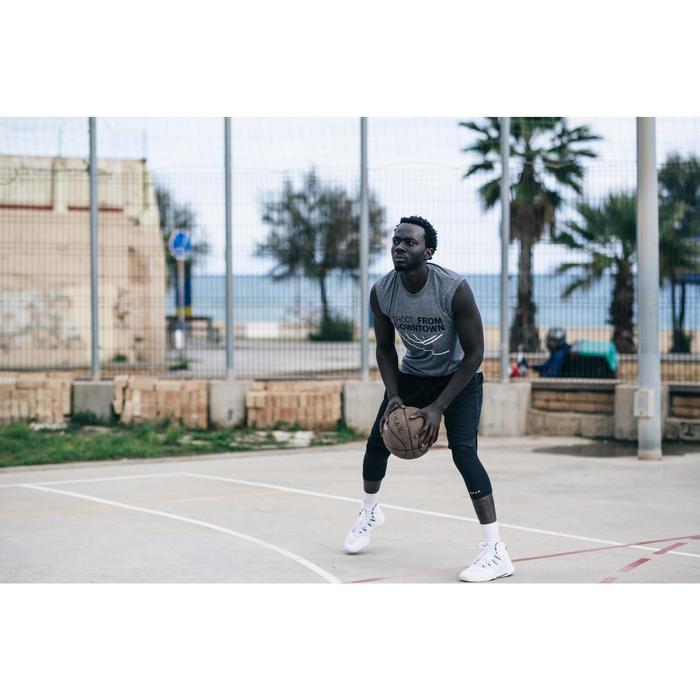 Basketbal BT500 bruin (maat 7, extra grip)